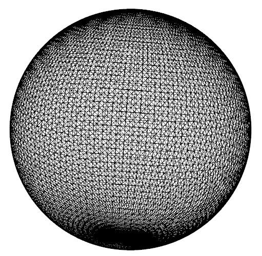gl polygon sphere